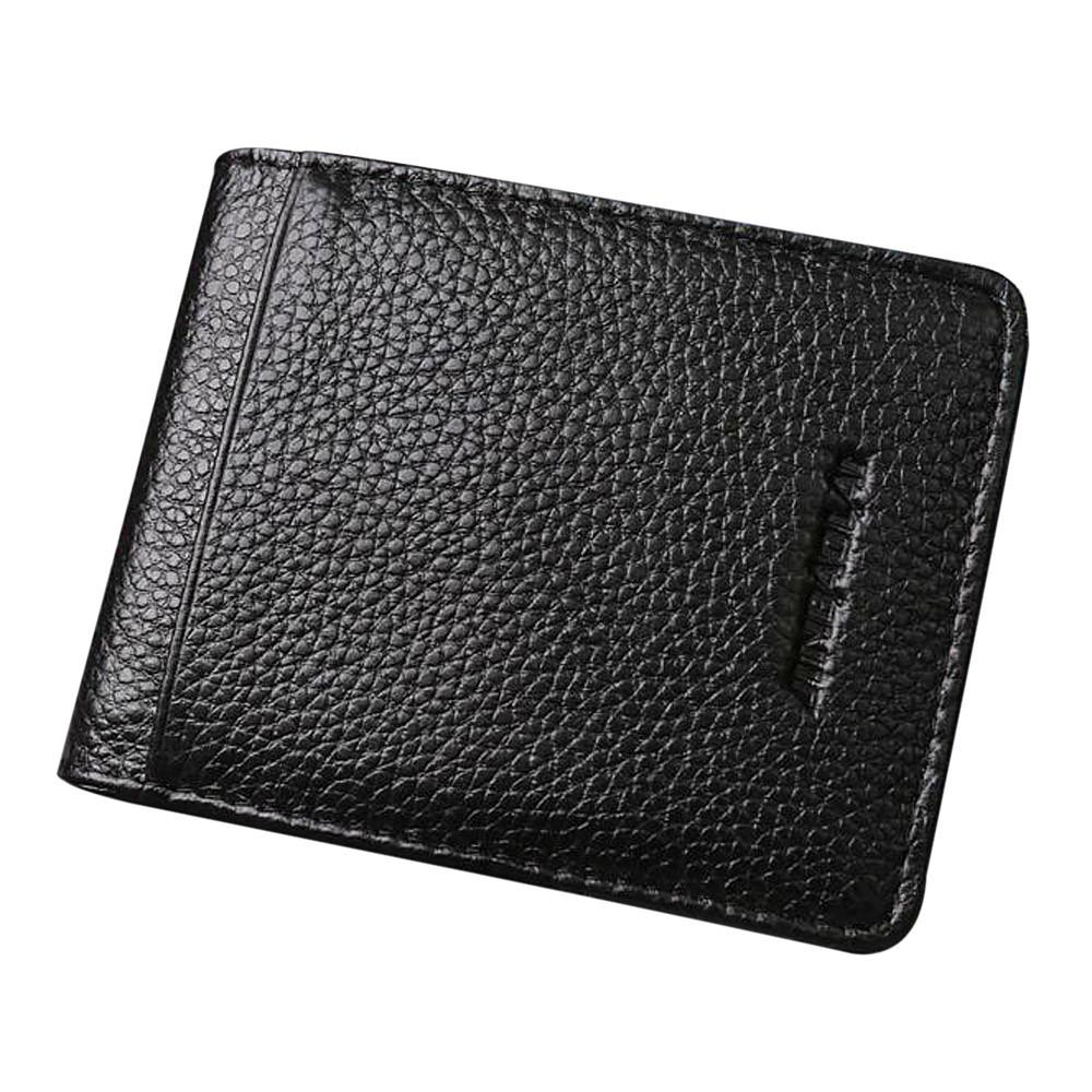 f2dc9063705f Compre Clip Money Cartera De Cuero Para Hombre Silver Money Clip ID Credit Monedero  Billetera De Dólar Monederos A  35.71 Del Watcheshomie