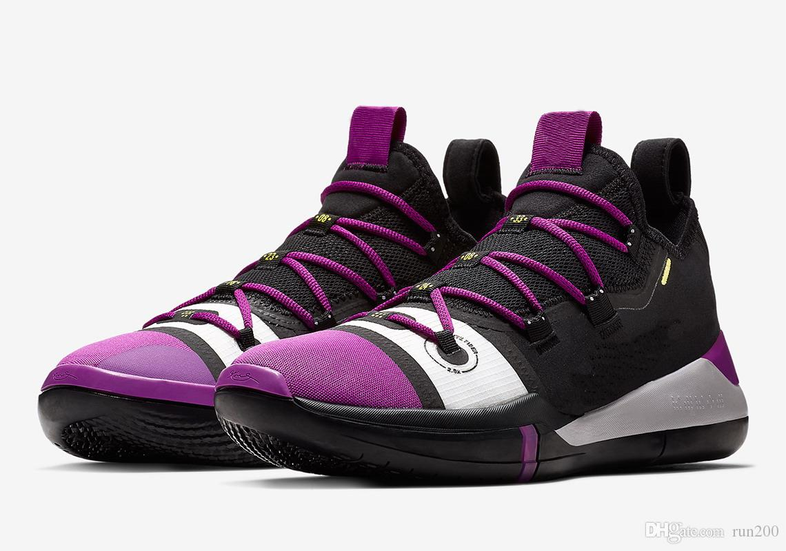 9564c904551aec ... coupon code for kobe ad exodus purple lakers best quality kobe bryant a.d  2018 basketball shoes
