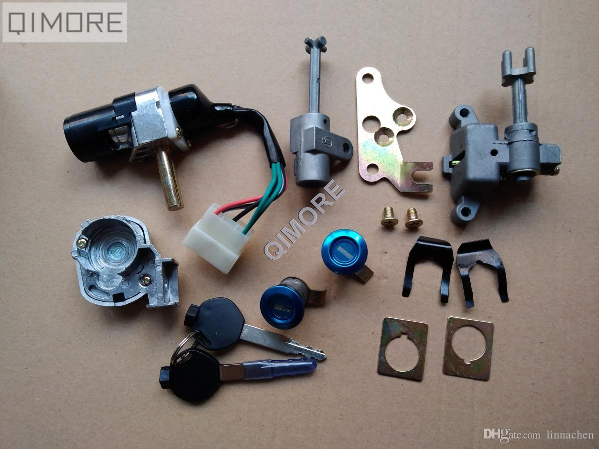 5-wire Ignition Switch Key / Lock Set for Chinese Zoomer Ruckus ...