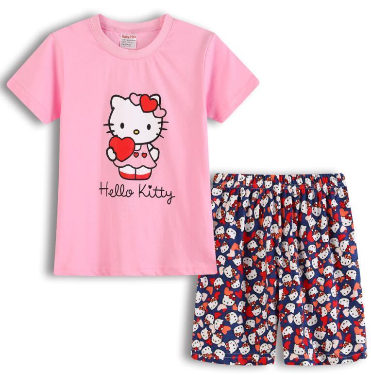 224eb278de Compre Niños Pijamas Traje Chicos Chica Pijama Ropa De Dormir Ropa De Bebé  Ropa Camisetas De Pijamas Niños Pijamas Home Sport Traje Ropa Homewear A   43.63 ...