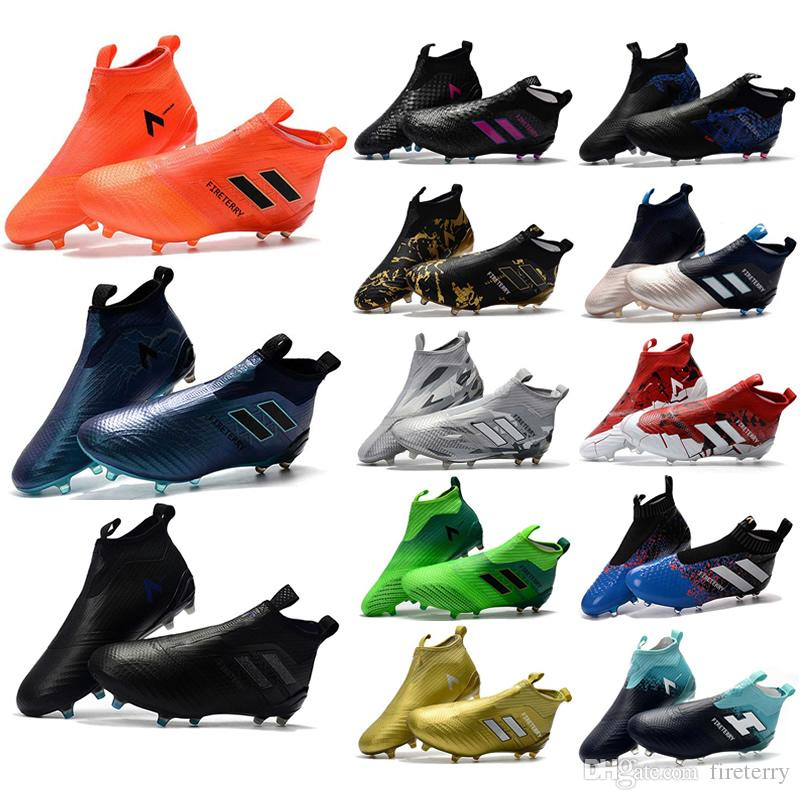 2018 ACE 17+ PureControl FG Dragon Best Quality Outdoor Football Shoes ACE Tango 17+ Purecontrol Soccer Boots Football Cleats size 39-46 buy cheap low price fee shipping cheap sale brand new unisex 2014 new sale online 4cfXC