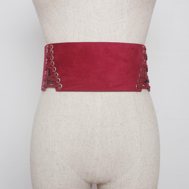 Compre Nuevo Diseño De Cinturones Anchos Vestido De Mujer Cinturones  Decoran La Moda De Cintura Sólido Terciopelo Cinturón De Fiesta Franela  Negro Mujeres ... 22aa8c9e79e0