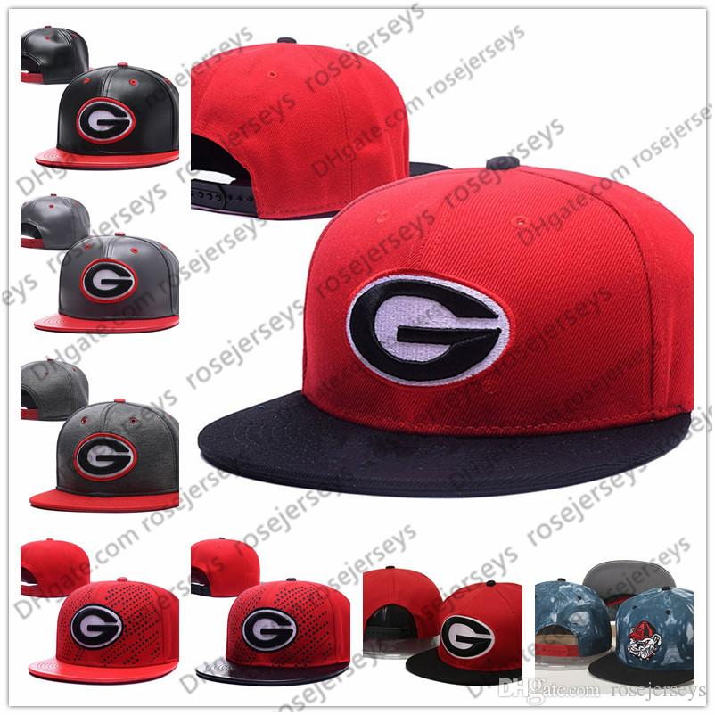 NCAA Georgia Bulldogs Caps 2018 New College Adjustable Hats All ... 6db788b912a0