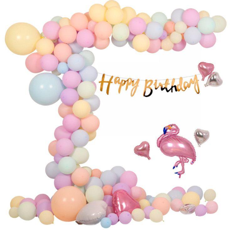 10inch 22g Latex Balloon Macaron Color Wedding Decoration Baloons