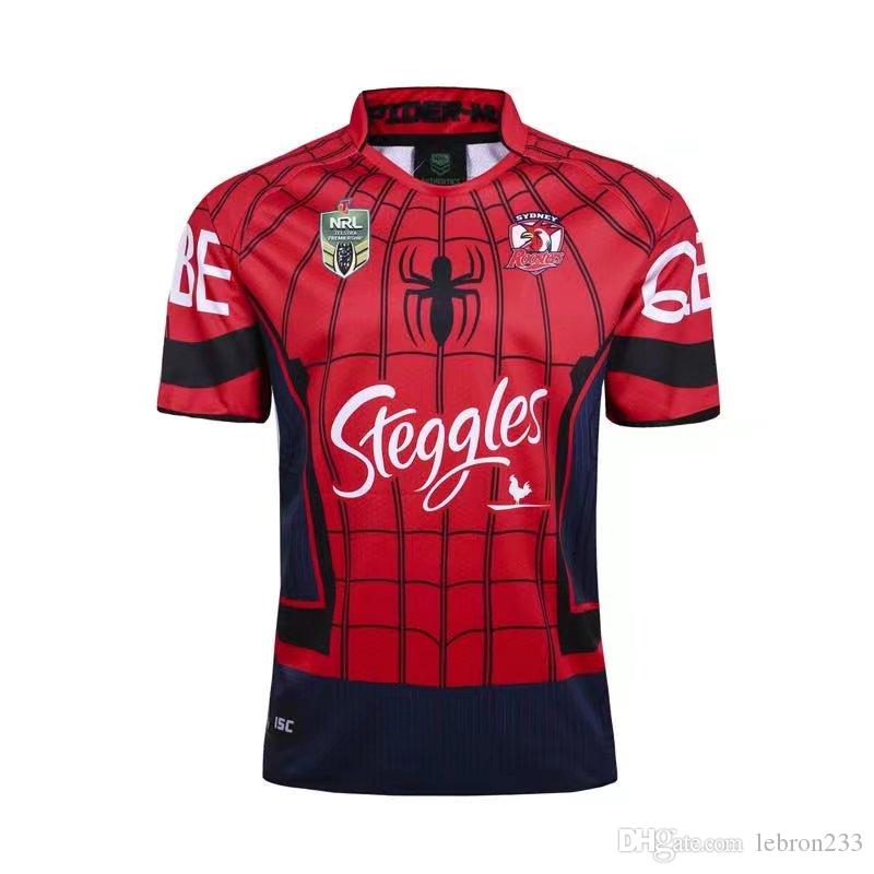 366e44424ac 2019 2017 NRL JERSEYS Sydney Roosters Jersey Rugby League Sydney Roosters  Shirts Marvel Captain America Special Version Rugby Jersey S 3XL From  Lebron233, ...