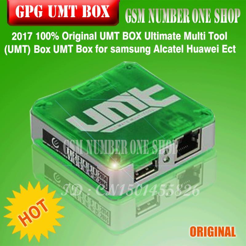 100% Original novo UMT BOX Ultimate Multi Tool (UMT) Caixa UMT Box para  Samsung Alcatel Huawei Ect