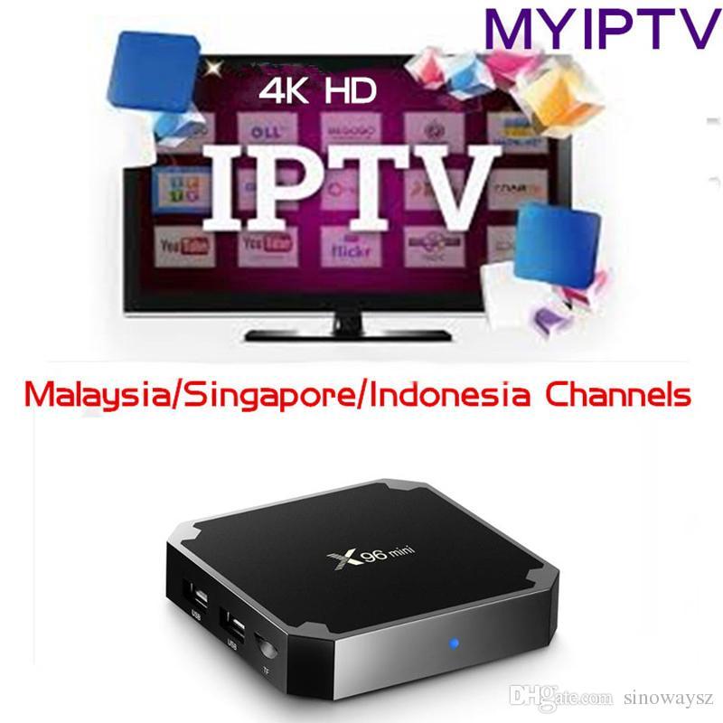 1G/8G 2G/16G X96 Mini Singapore Malaysia iptv box Android Box Watch  malaysia subscription channels HD TV Myiptv 190 channels