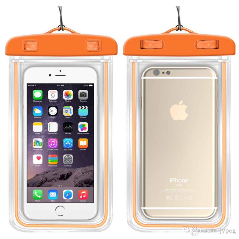 Waterproof Phone Case for Phone Universal TPU Waterproof Pouch Transparent Dry Bag for iPhone XS XR XS Max
