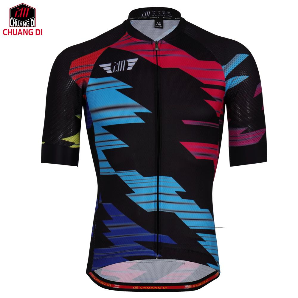 ZM Men Cycling Jersey 2018 Pro Team MTB Downhill Jersey Breathable Road  Bike Bicycle Jersey Tour De France Maillot Ciclismo