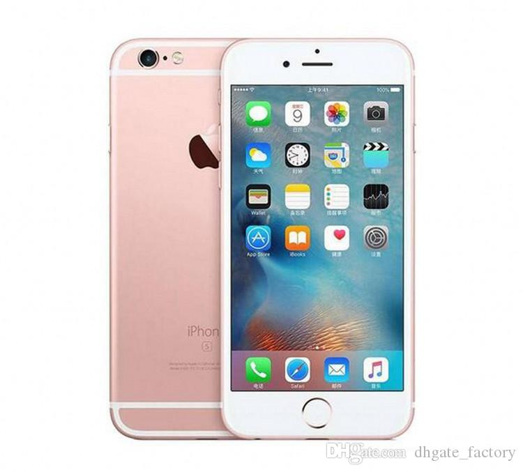 Remodelado desbloqueado original apple iphone 6s com impressão digital dual core 16 gb / 64 gb / 128 gb celular 4.7 polegada