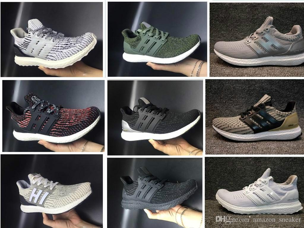 612945d018560 2018 ATR Mid Primeknit Running Shoes Men Women Black White Burgundy Oreo  Trace Green Khaki Ultraboost 3.0 All Terrain Sneakers Running Accessories  Running ...