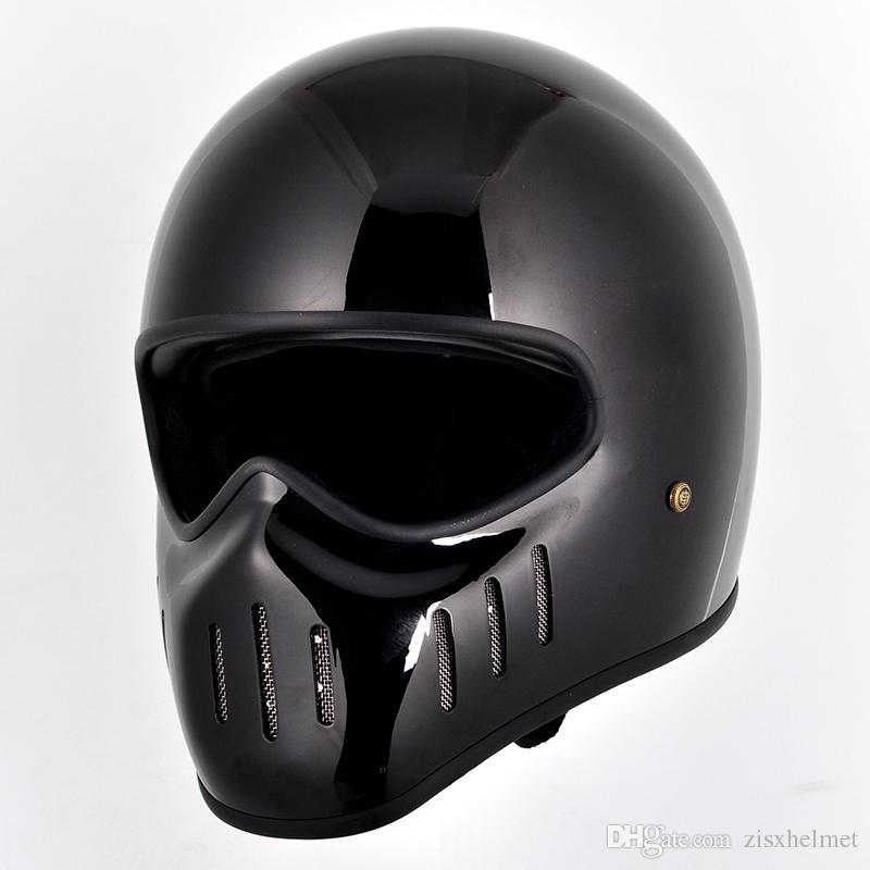 fiberglass motorcycle vintage retro full face helmet for. Black Bedroom Furniture Sets. Home Design Ideas