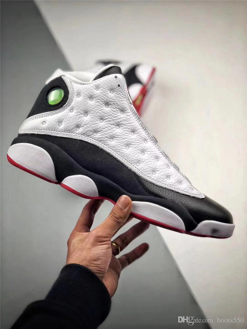 0b6f98f8932 2018 Newest Release 13 He Got Game 13S Black White Basketball Shoes ...