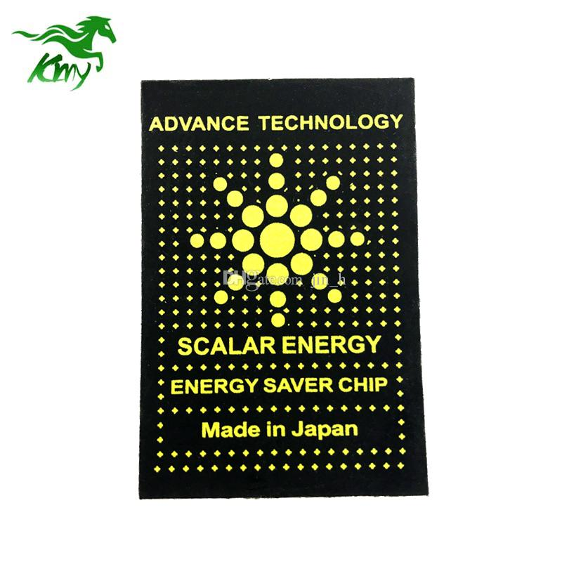 Mobile phone anti radiation sticker scalar energy saver chip free shipping
