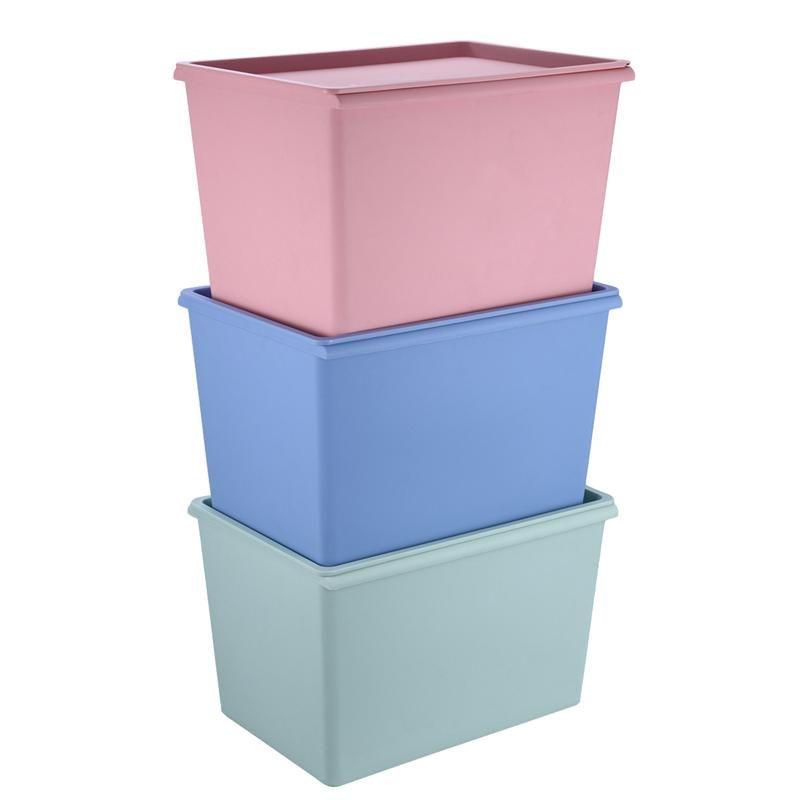 Relativ Großhandel Stapelbarer Kunststoff Aufbewahrungsbox Mit Deckel UD11