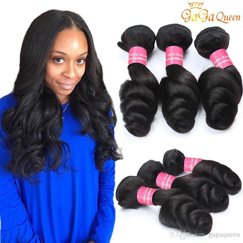 Wholesale Brazilian Virgin Hair Loose Wave Human Hair Unprocessed Brazilian  Loose Wave Bundle Wet And Wavy 8A Grade Brazilian Hair Wet N Wavy Weave  Hair ...