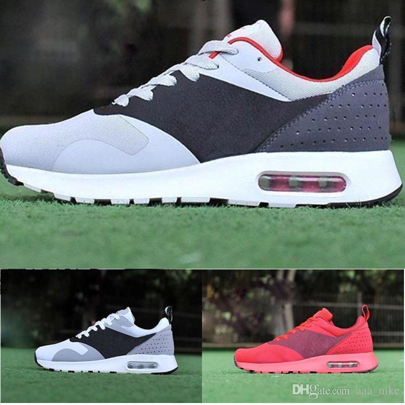 promo code 3f930 e7032 Acheter Nike Air Max Airmax 87 90 Avec Box Top Qualité Nouvelle Thea 87 90  As Tavas Sneakers Hommes Chaussures De Course Chaussures De Marche  Décontractée ...