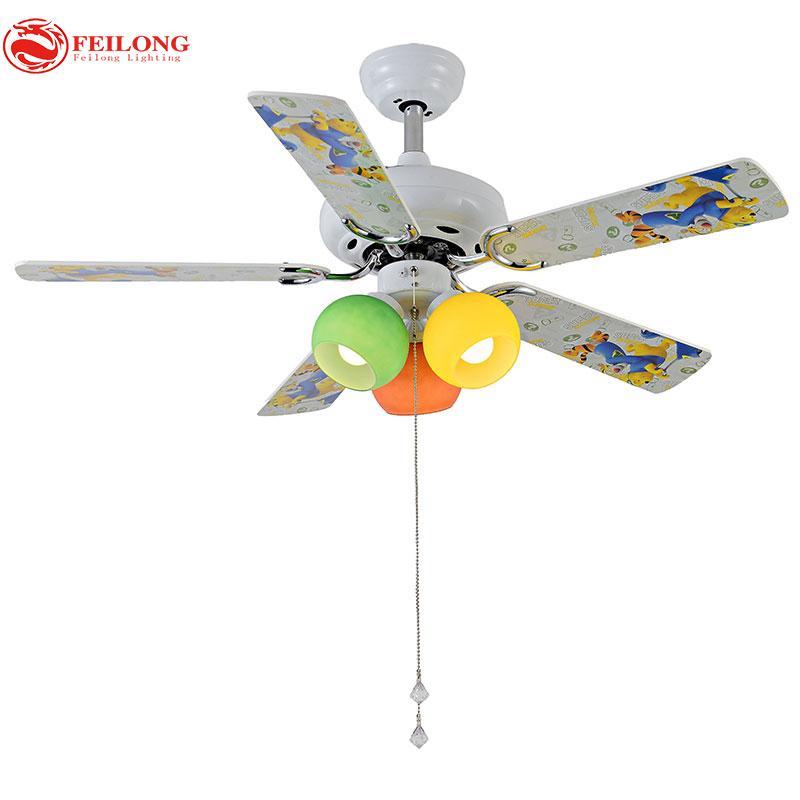 Kid Style Ceiling Fan 4210 Winne Bear Pattern Blades Led Lighting Styles Blade With 621 5 Set On Lightlight S