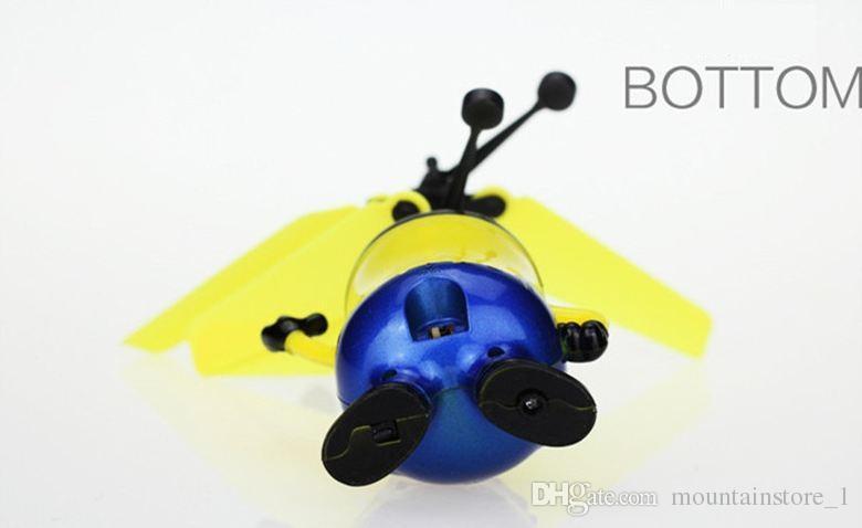 جيد رخيصة ملون البسيطة drone التسلق led rc تحلق الكرة هليكوبتر تحسس ضوء الكريستال الكرة التعريفي لعب للأطفال أطفال 5 نموذج