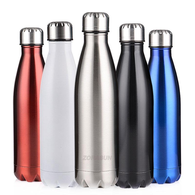 8f7928d102d ZORASUN 17oz Double Wall Vacuum Insulated Stainless Steel Water Bottle For  Outdoor Sport Climbing Camping Hiking Cycling Cheap Kids Water Bottles  Cheap ...
