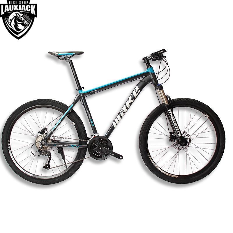 MAKE Mountain Bike Aluminum Frame 17 19 Shimano 27 Speed 26 27,5 ...