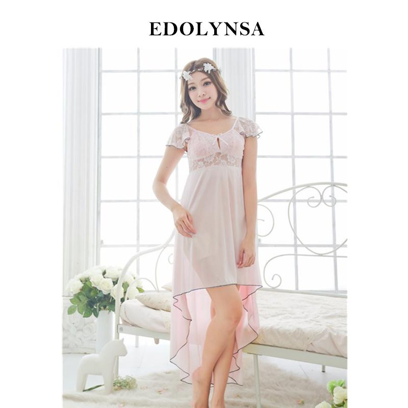 3a6a8426a4 New Arrivals Lace Nightgowns Sleepshirts Solid Sleepwear Sexy Nightgown  Female Soft Home Dress Vintage Cute Nightgown  H167 S1011 Lingerie Gallery  Petite ...