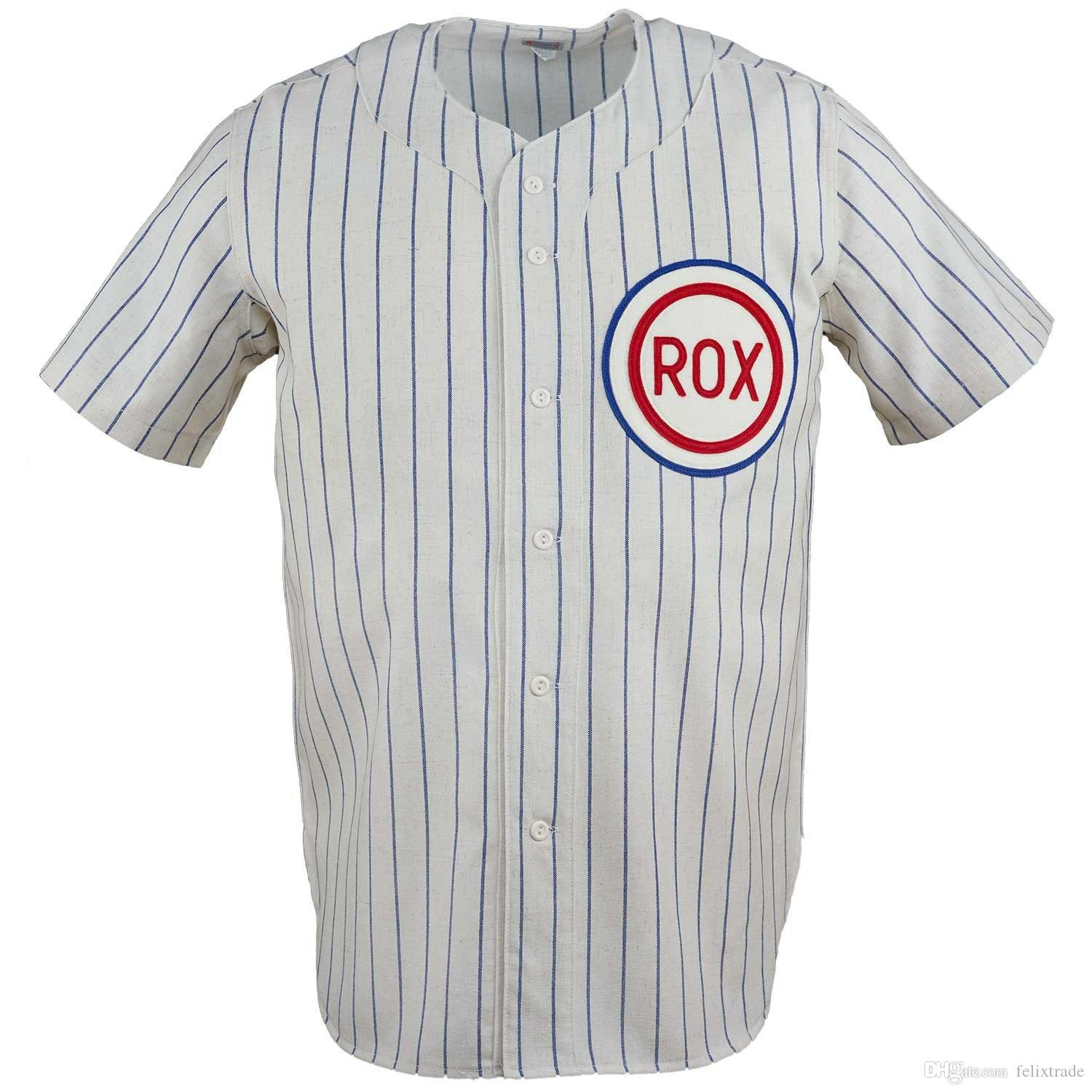 6c3e69ffb St. Cloud Rox 1961 Home Jersey Double Stiched Name & Number & Logos ...