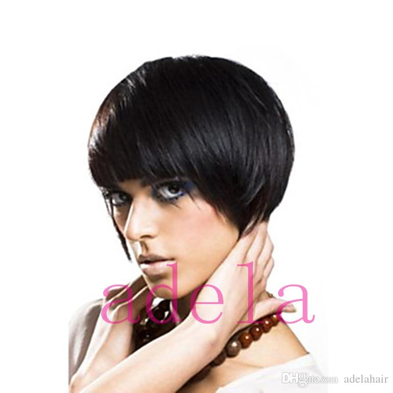 Brazilian Bob Cut Wigs Human Hair Natural Hair Style Cuts Short Bob
