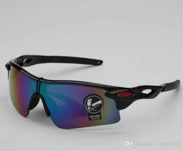 눈부신 컬러 필름 사이클링 선글라스 스포츠 고글 남성 여성 방수 안경 야외 방위 안경 안경 선글라스 a322