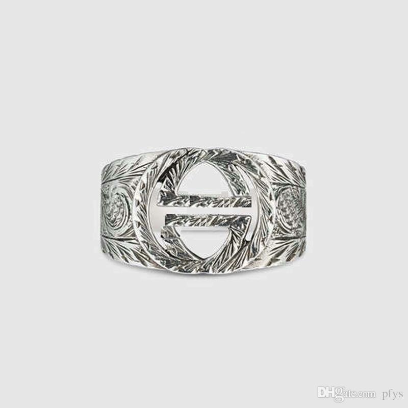 Vintage Tiger Head Ring Men 925 Sterling Silver Personality Domineering Creative Single Influx Student Middle Finger Men New Zodiac - Spot