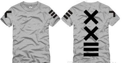 Japanese men and women XXlll street hip-hop T-Shirt PYREX 23 / HBA short sleeve t-shirt Casual Tops children t-shirts