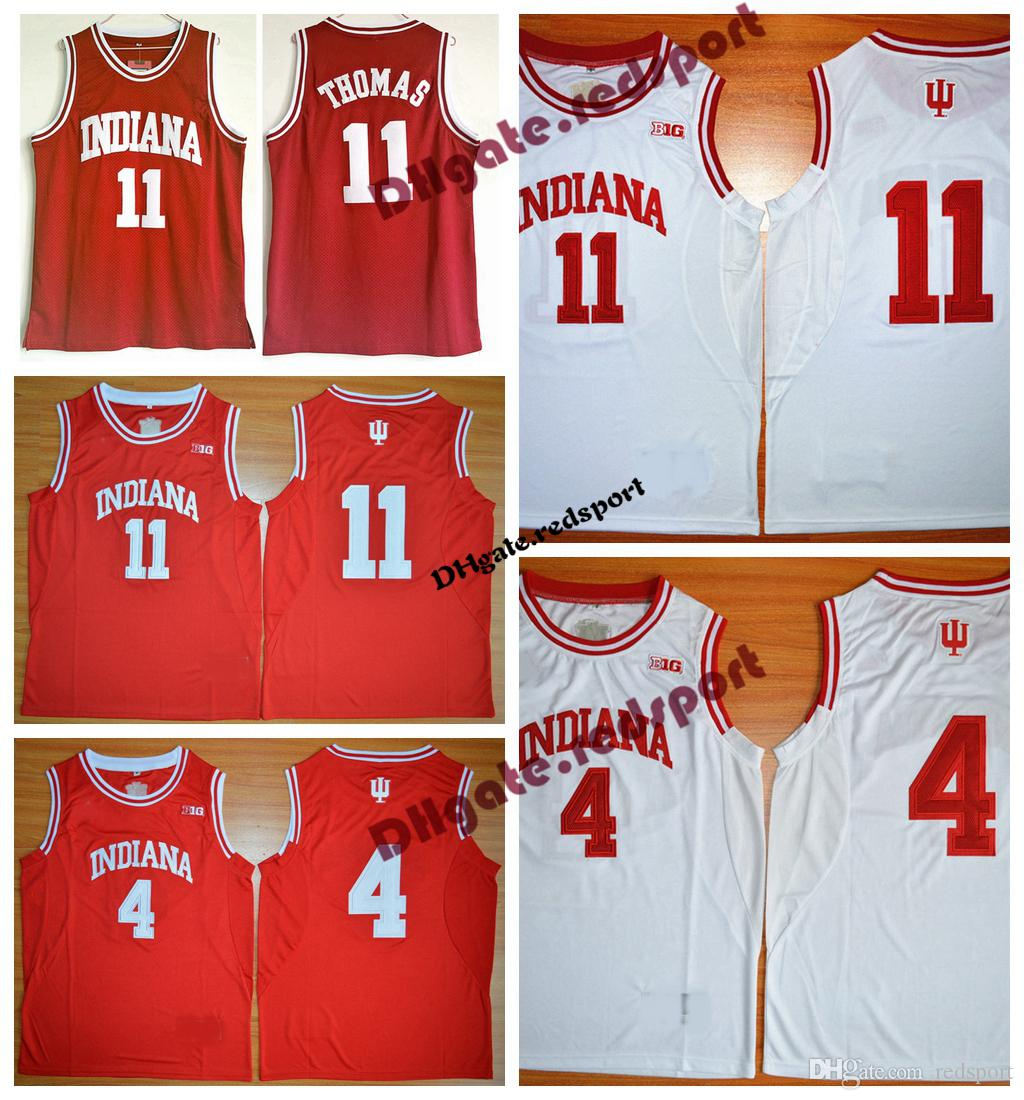 100% authentic 68599 dc66a 2019 Mens Indiana Hoosiers College Jersey Cheap Isiah Thomas ...