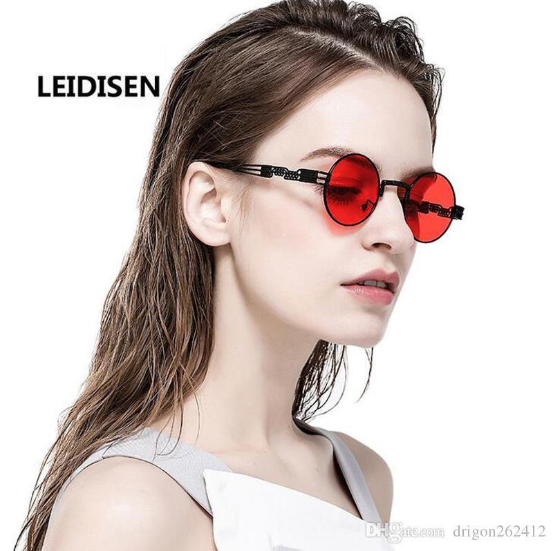 d9f20b6e3a New Arrival Porarized Round Sunglasses Girls Beach Eyewear European And  American Style Cool Sunglasses For Mens Mirror Sunglasses Boots Sunglasses  From ...