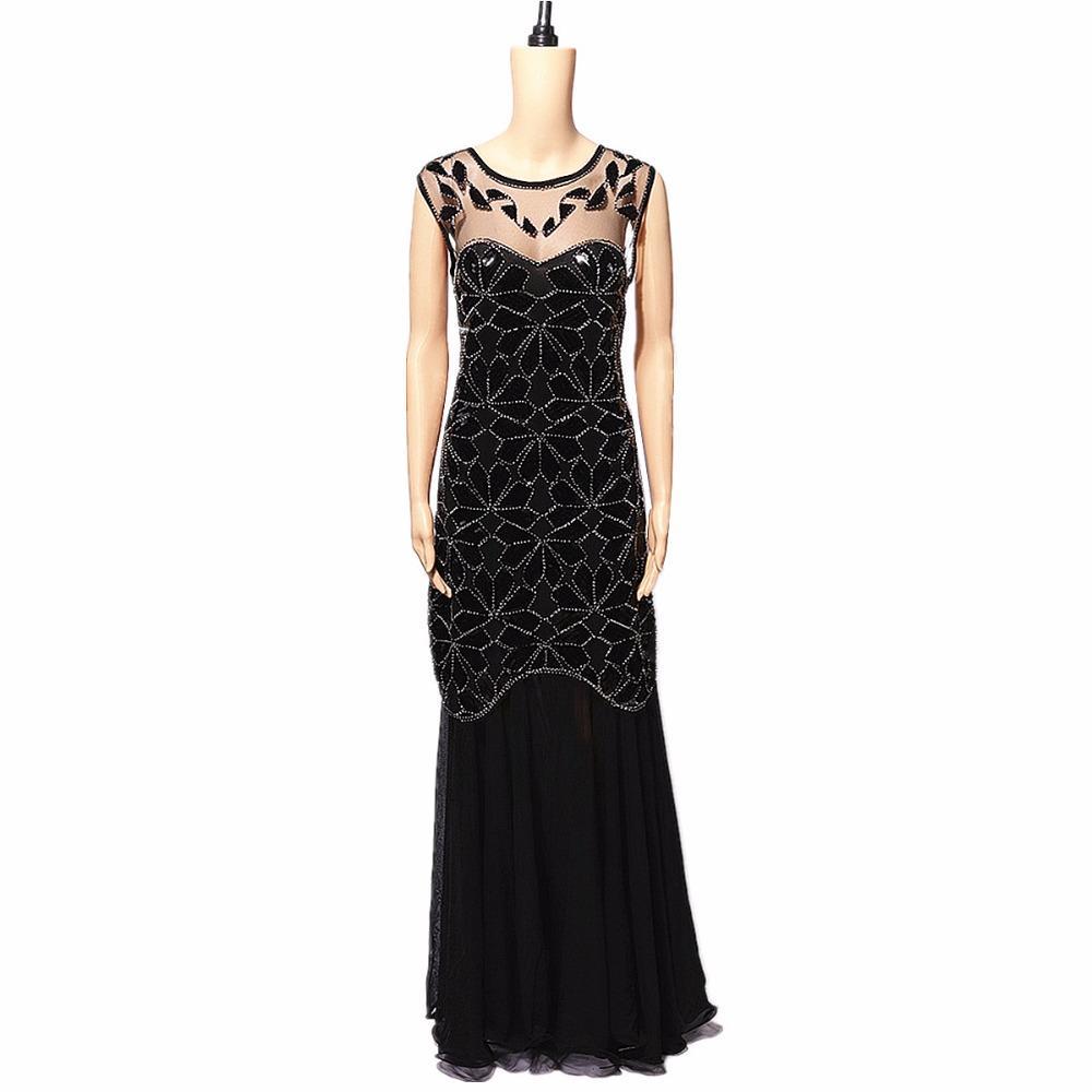 2019 Sequins Latin Dance Dress Great Gatsby Dress Flapper Girls ...