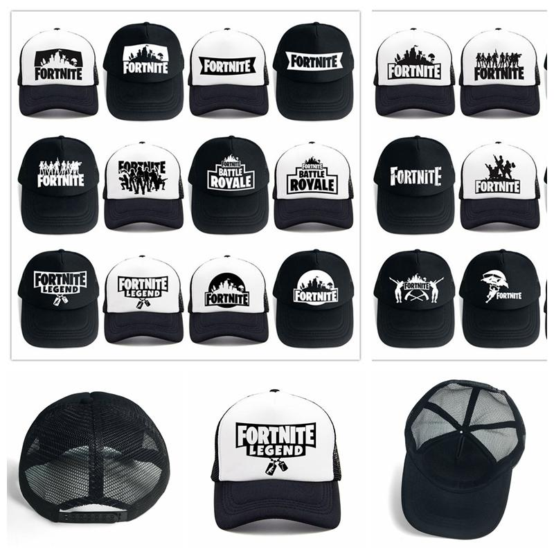 24 Design Adult Fortnite Hats Trucker Cap Fortnite Fans Cool Caps Summer  Baseball Net Outdoor Sports Caps Fortnite Mesh Hats Cap Store Custom Fitted  Hats ... 78df5861c17
