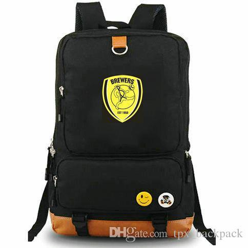 3b8d804b8901d Burton Albion Rucksack Trent Day Pack Football Club School Bag Soccer  Packsack Laptop Backpack Sport Schoolbag Outdoor Daypack Bags Rucksack From  ...
