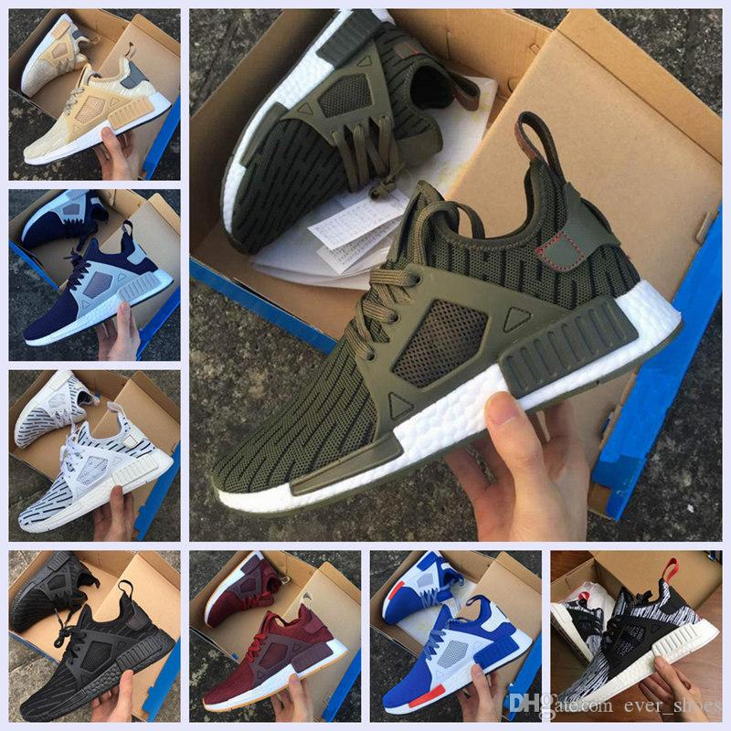 553fbf623f7b NMD XR1 Running Shoes Mastermind Japan Skull Olive Green R1 Camo Glitch  Black White Blue Nmds Zebra Pack Men Women Sports Shoes 36 45 East Bay  Shoes Shop ...
