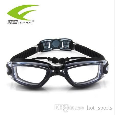 24bf5a32663d 2019 New FEIUPE Myopia Swim Goggles Swimming Glasses Anti Fog UV Protection  Optical Waterproof Eyewear For Men Women Adults Sport F316 From Hot sports