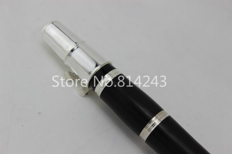 Professional Instruments à vent chute Tune A 17 touches clarinette plaqué argent Key Instruments de musique avec livraison gratuite cas