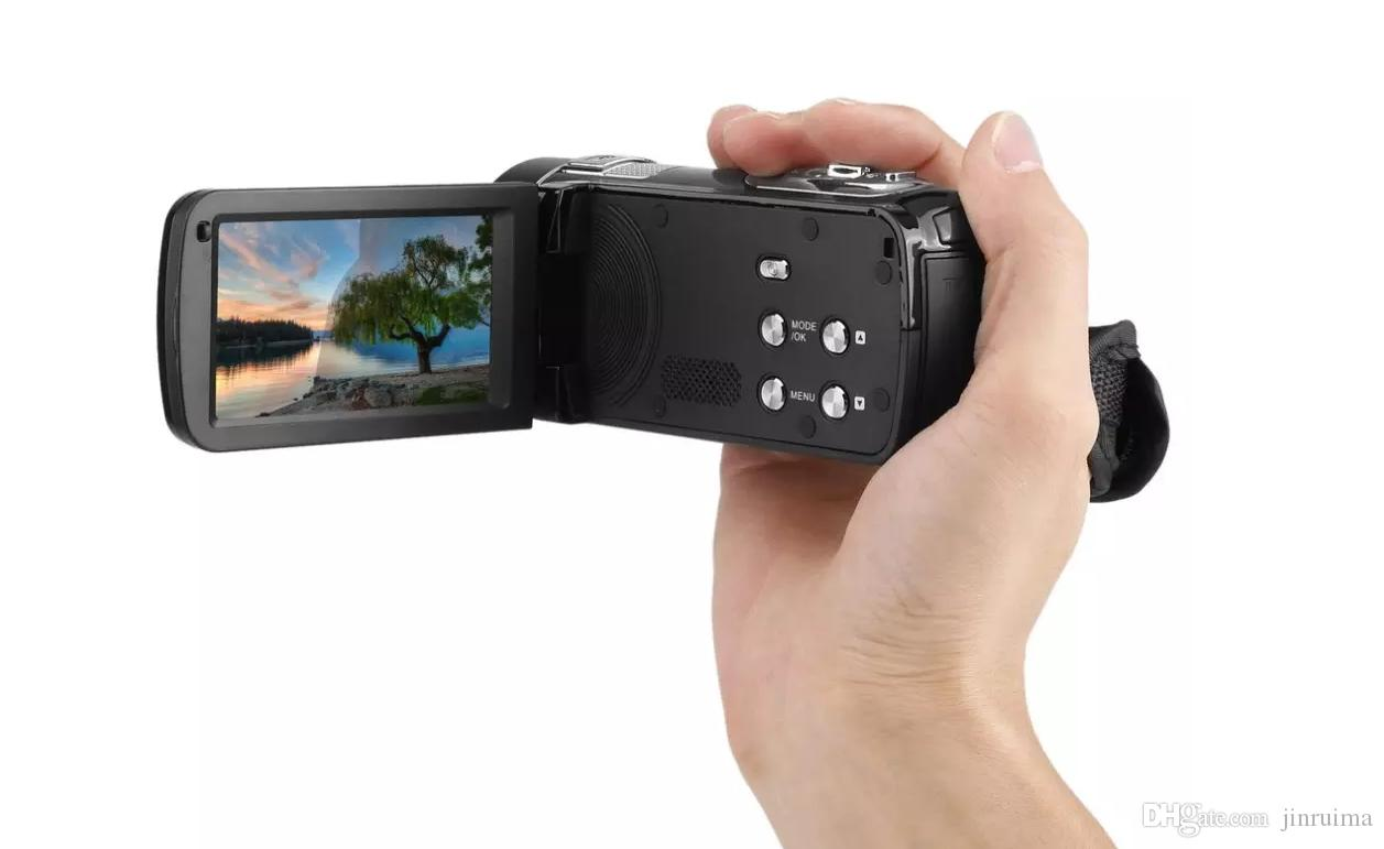 """Infrared Night Vision Remote Control Handy Camera HD 1080P 24MP 18X Digital Zoom Video Camera DVwith 3.0""""LCD Screen DEYIOU"""