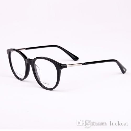 1ba2da4d0237 2019 HOT SALE Optical Frames Men Women 2018 Brand Eyeglasses Retro Fashion  Style CA5125 Oval Metal Frame Eye Glasses Spectacles From Luckcat