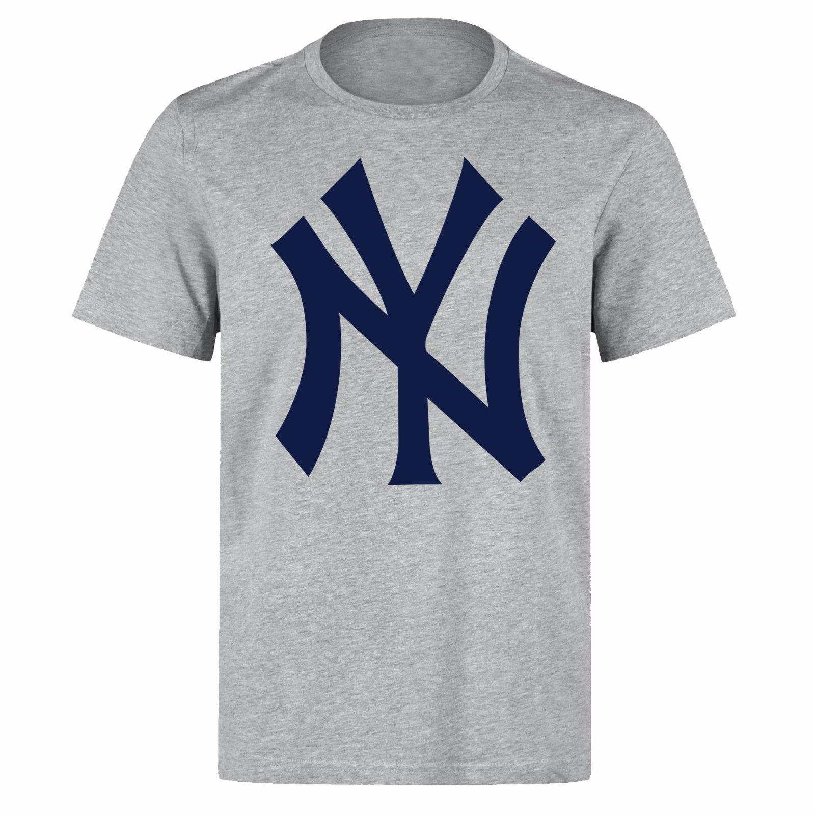 1ed0bfd01abdd Compre NY NEW YORK YANKEES MLB BÉISBOL EQUIPO LOGO UNISEX ROPA A  12.05 Del  Xsy13tshirt