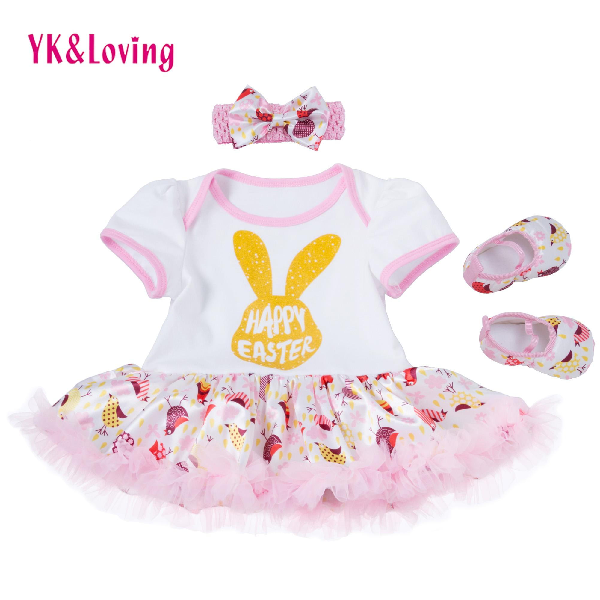 Baby Girl Romper Tutu Dress Cotton Short Sleeve Girls Kids 0 2t