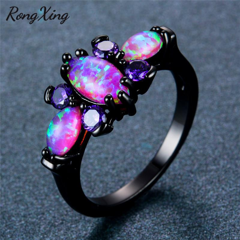 pink rare earth ring vintage wedding jewelry style diamond or band sapphire products with engagement rings scalloped halo