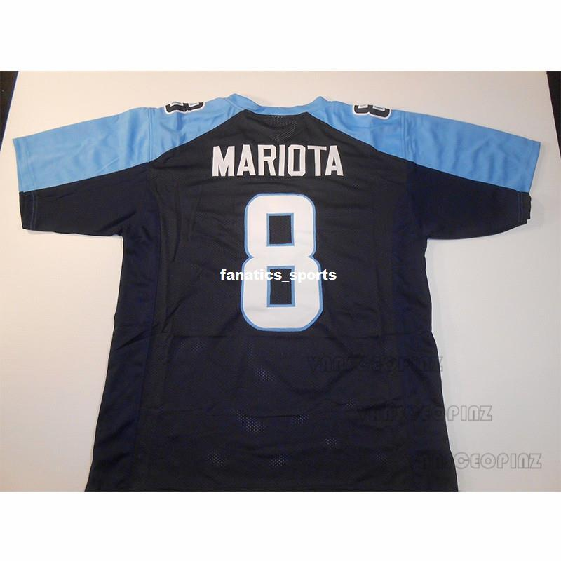 Mens Marcus Mariota Stitched Name Number Football Jerseys UNSIGNED NO LOGOS  OR EMBLEMS High Quality America Football Jerseys Online with  38.23 Piece  on ... 50f273b08