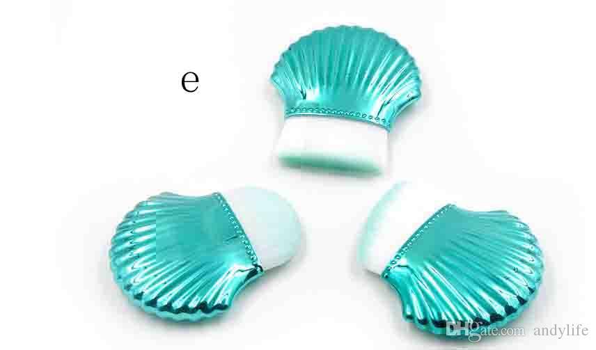 Тональные средства для макияжа Косметика для макияжа Shell Contour Powder Blush Tools