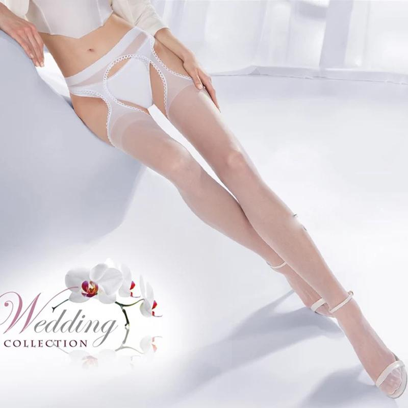 ec9b745c0c8 2019 Sexy Tights Top Thigh Highs Cut Out Sheer Nylon Stockings Women  Stockings Open Crotch Pantyhose Sexy Lingerie Underwear SW093 From  Vanilla04