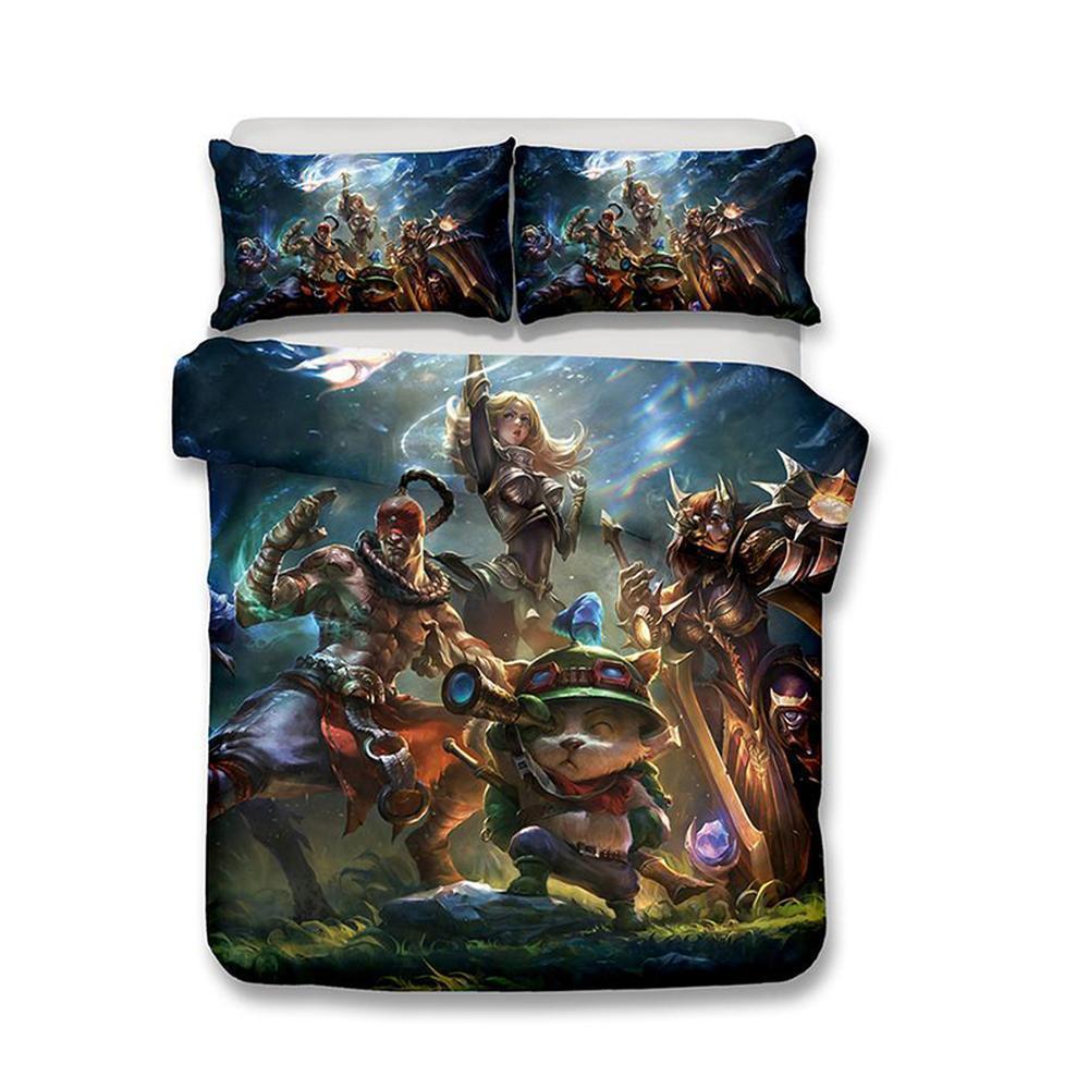 Großhandel 3d Spiel League Of Legends Bedruckte Bettwäsche Sets
