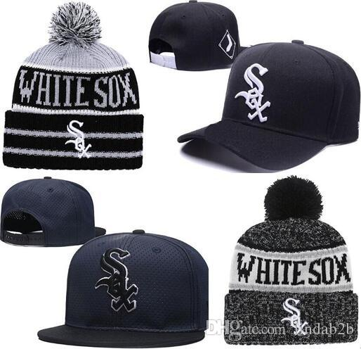 2019 2019 White Sox Hat Snapback Champions White Sox Beanie All Teams Men  Women Knitted Beanies Wool Hat Man Knit Bonnet Beanie Gorro Warm Cap From  Lindab2b ... c00ff65f1d80