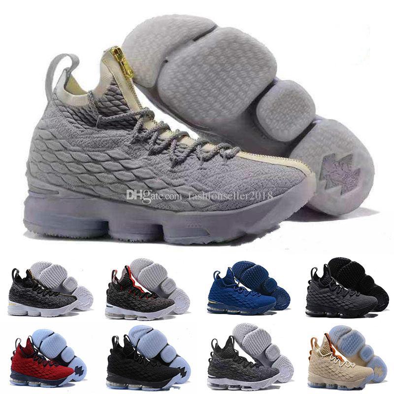 1a44ce2e Compre 2018 Más Nuevos 15 Zapatos De Baloncesto De Alta Calidad Cenizas  Fantasma 15s Para Hombre Zapatos Casuales Envío Gratis A $98.91 Del ...